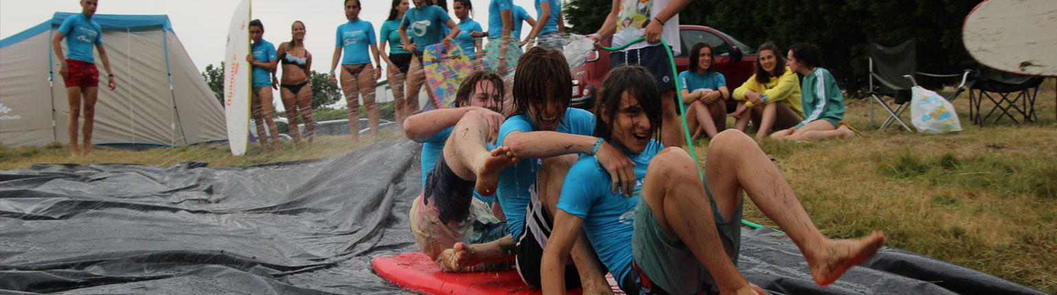 SURF CAMP FOR YOUNG PEOPLE